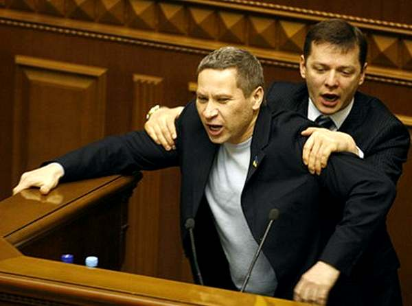 Участник практически всех «силовых» акций депутатской фракции ПР.